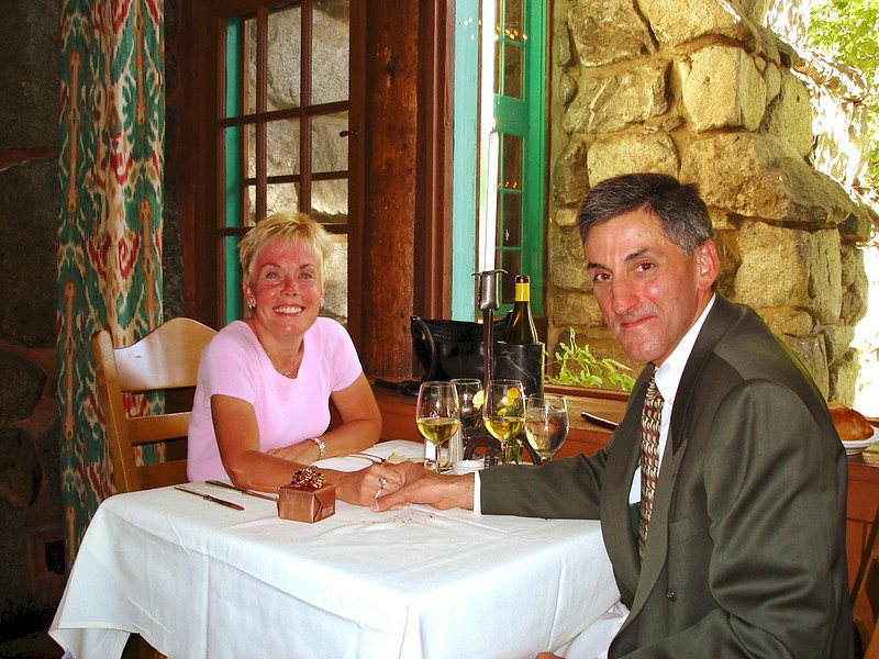 6/29/05: Anniversary Dinner at The Ahwahnee