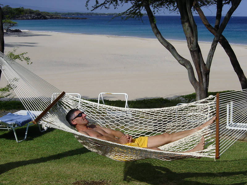 06/28/06: My favorite hammock on the beach!