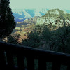 Here is a view of the North Rim from the porch of our cabin.