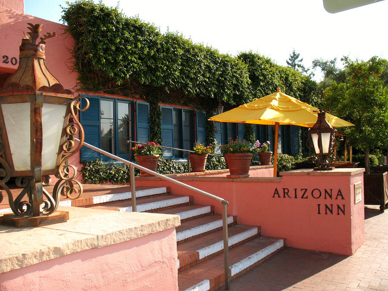 The Arizona Inn was built in 1930. It is listed on the National Register of Historic Places and it has earned a reputation as one of the best hotels in the world.