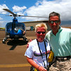 06/29/10: This helicopter and pilot flew us over knife-edged ridges of the West Maui Mountains and then we crossed over the Pacific to explore the island of Molokai.