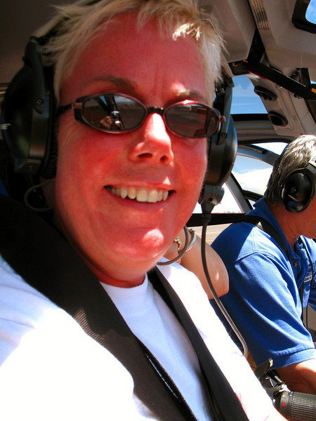 Diane served as co-pilot on this journey.