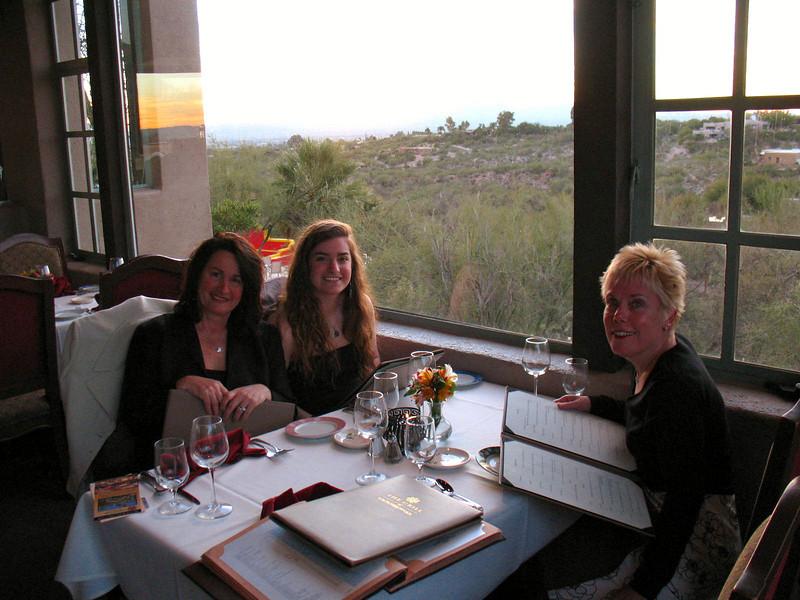 01/12/08: Hacienda Del Sol - Annette, Lauren, and Diane