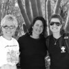 01/12/08: Black and White version: Diane, Annette, and Lauren - Sonoran Desert Museum