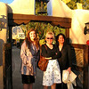 01/12/08: Lauren, Diane, and Annette at the entrance of Hacienda Del Sol