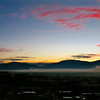 01/08/09: The Big Sky - Fog at Sunrise from Sabino Mountain