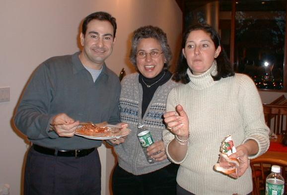 Ralph, Maria, and Gina