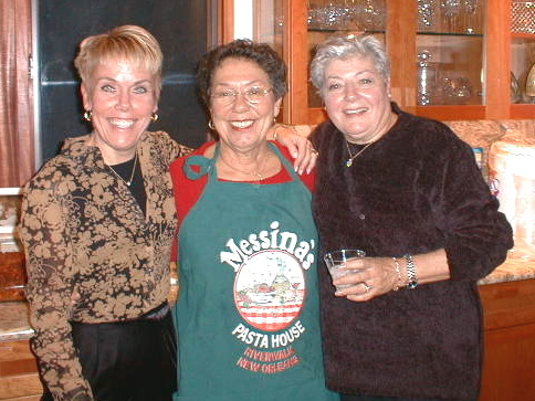 Diane, Aunt Elena, and Mom