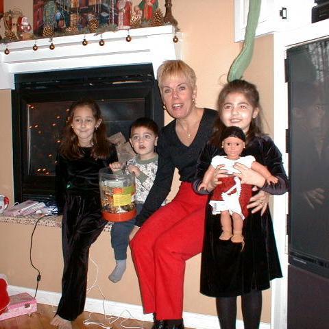 Marisa, Nicholas, Auntie Diane, and Talia