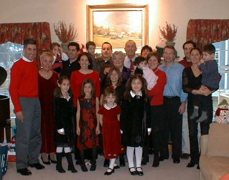 The Comparato Family on Christmas Day!