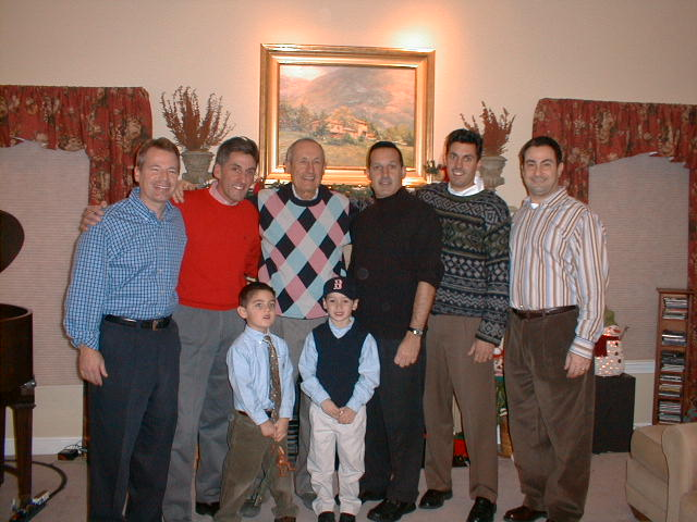Jay, Tom, Nick, Dad, Tommy, Frank, Chris, and Ralph