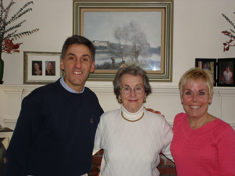 Tom, Diane, and Aunt Marion
