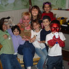 Julia, Genna, Auntie Diane, Talia, Emma, Tommy, Marisa, and Nick