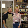 Mom and Diane in the kitchen at Dish