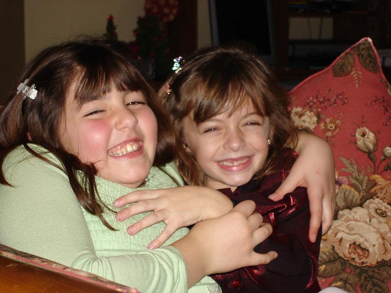 Talia and Emma