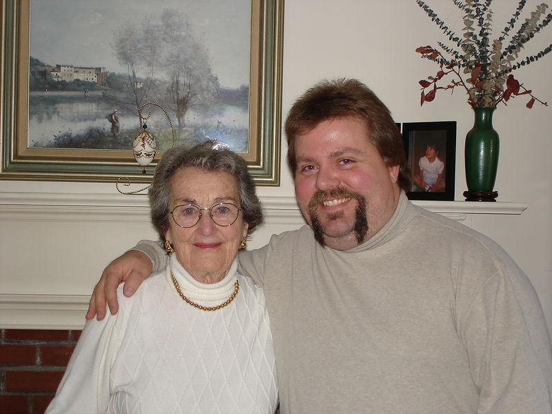 Aunt Marion and Chris Hyde