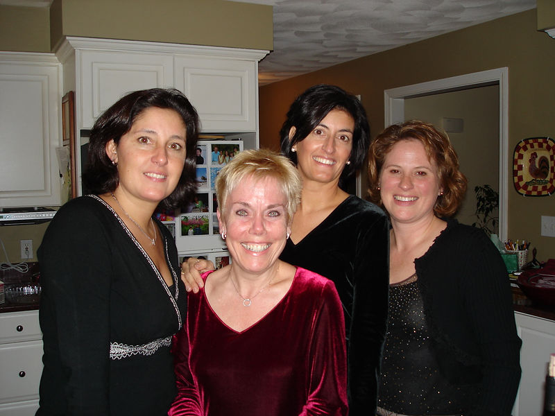 Gina, Diane, Lea, and Maryann