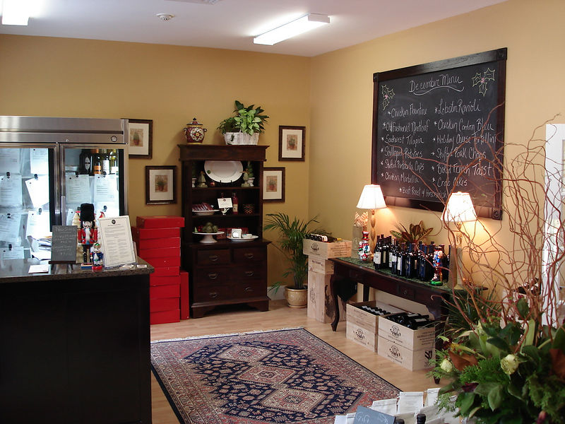 The front room of Dish