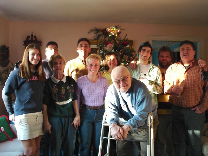 The Hyde Family: Lauren, David, Eva, Tom, Diane, Annette, Doc, Philip, Chris, Donnie