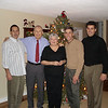 Frank, Dad, Mom, Tom, and Chris