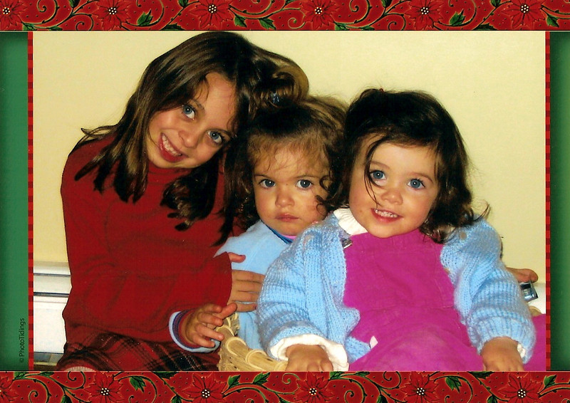 Carly, Ella, and Sophia Comparato.
