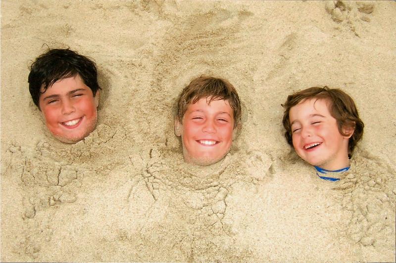 Michael, Nicholas, and Matthew Messina.
