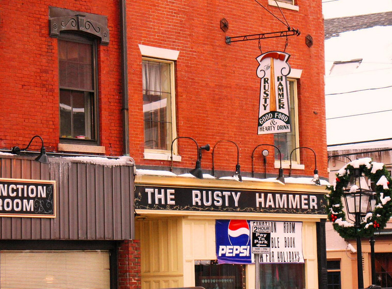 The Rusty Hammer - Home of the best Peanut Butter Pie!