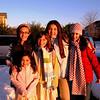 12/25/07: Julia, Genna, Emma, Talia, Marisa.