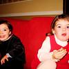 12/24/07: Sophia & Ella.