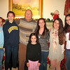 Emma, Talia, Dad, Genna, Julia, Ali, and Marisa.