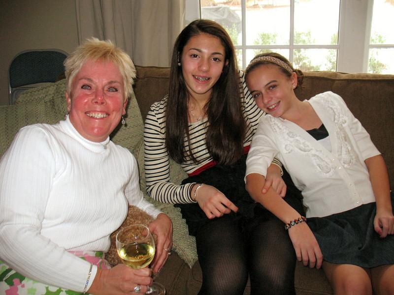 Diane, Talia, and Emma.