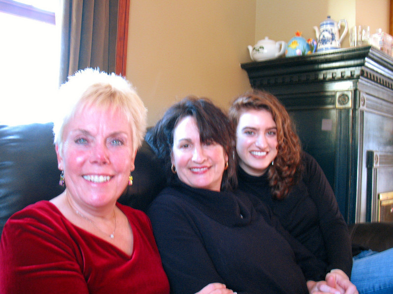 Diane, Annette, and Lauren.