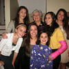 Emma, Talia, Julia, Mom, Genna, Marisa, and Ali.
