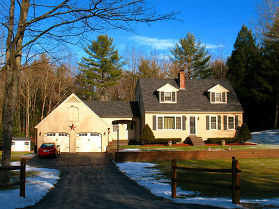 Fremont, NH home, built in 1985.