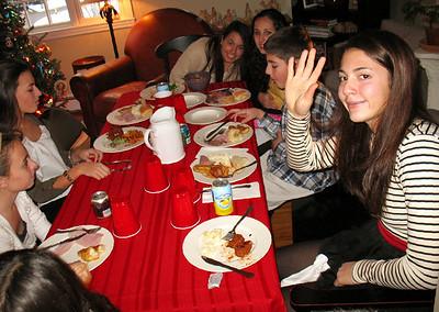 Emma, Julia, Ali, Marisa, Nick, and Talia.