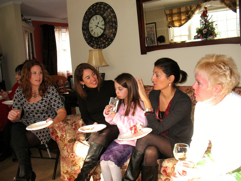 Maryann, Christina, Carly, Lea, and Diane.