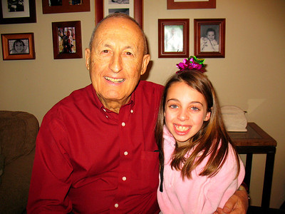 Dad and Carly.