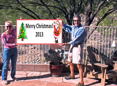 """12/25/13: Christmas Day Photo to the families """"from our home to yours."""""""