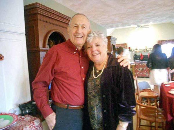 Mom and Dad, Christmas Day.