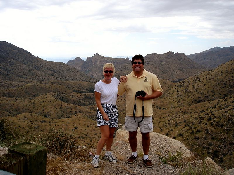 Diane and David: Catalina Highway