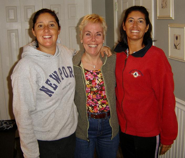 Gina, Diane, and Lea.