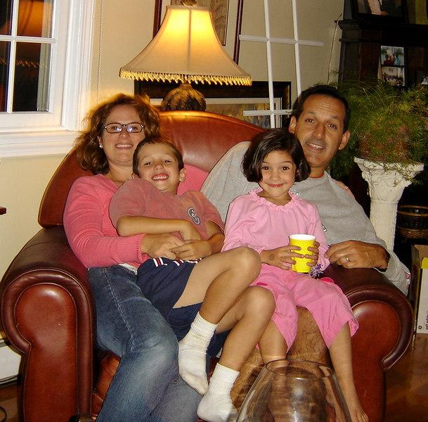 Maryann, Tommy, Genna, and Frank