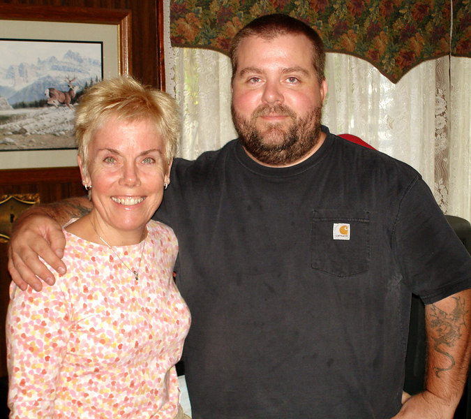 Diane and her brother Chris Hyde.