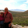 10/04/08: Mom & Dad at Colossal Cave Mountain Park.