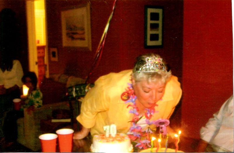 Mom's 70'th Birthday Party