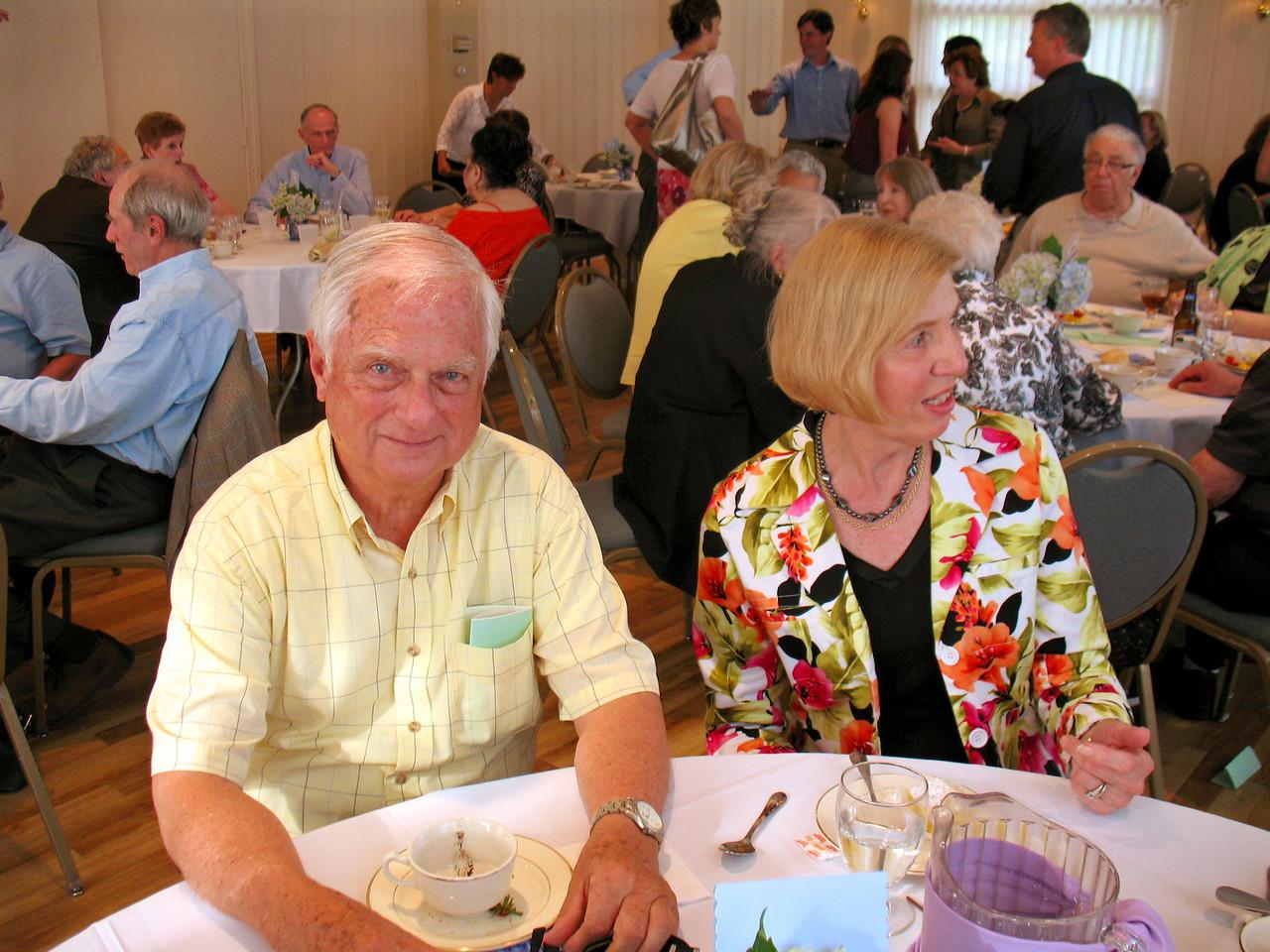 Bob and Nan James.