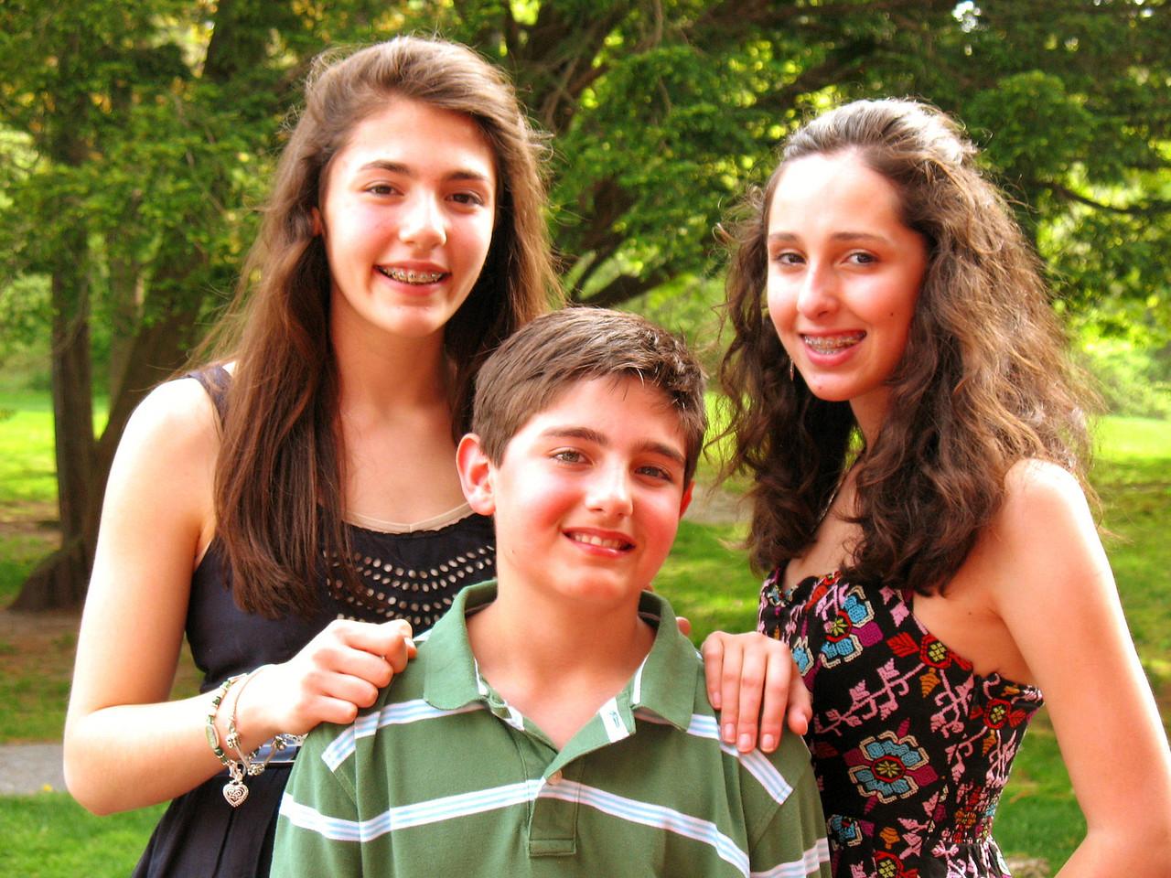 Talia, Nick, and Marisa.