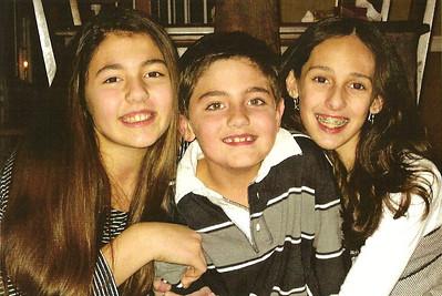 Talia, Nick, and Marisa