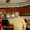 Back in New England: Chris Hyde enjoys his Turkey!