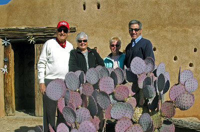11/25/13: The grounds outside DeGrazia Gallery of the Sun.